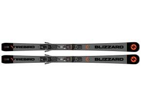 Lyže BLIZZARD FIREBIRD TI, black/grey s viazaním TPC 10 DEMO, 19/20