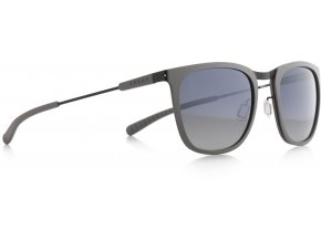 Slnečné okuliare SPECT Sun glasses, SCORE-003P, grey, smoke gradient with silver flash POL, 52-21-140