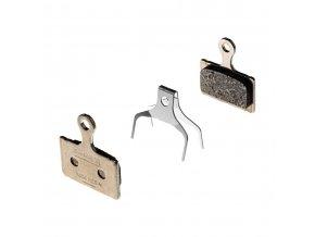 Platničky brzd. resin K03S XTR(M9100)/DURA ACE/ULTEGRA/105/GRX/SHIMANO