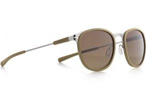 Slnečné okuliare SPECT Sun glasses, SKILL-002P, beige, brown gradient POL, 50-21-140
