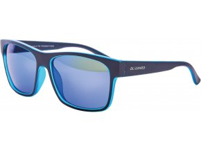 Slnečné okuliare BLIZZARD sun glasses PCSC802115, trans. sky blue matt/outside black mat, 64-17-143