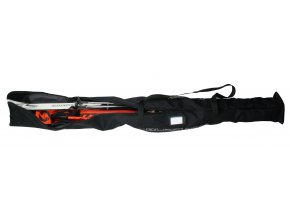 vak na lyže BLIZZARD Ski + XC bag for 2 pairs, black, 210 cm