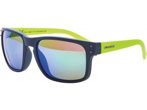 Slnečné okuliare BLIZZARD sun glasses PCSC606051, rubber dark green + gun decor points, 65-17-135