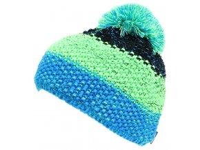 čepice BLIZZARD Tricolor, black/green/blue-melange