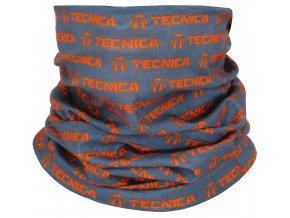 Nákrčník TECNICA Tube, grey/orange, size UNI