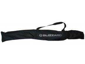vak na lyže BLIZZARD Ski bag for 1 pair, black/silver, 160-180 cm (Veľkosť 160-180 cm)