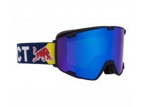 5271 lyzarske bryle red bull spect goggles park 003 matt dark blue frame blue headband lens blue snow cat3