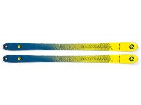 sjezdové lyže BLIZZARD Zero G 085, yellow/blue, flat, 19/20 (Veľkosť 178 cm)