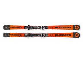 Lyže BLIZZARD FIREBIRD Race Ti, orange/black, 18/19 s viazaním TPX 12 DEMO, 18/19