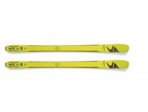 Lyže BLIZZARD Zero G 085, flat, yellow/green, 17/18