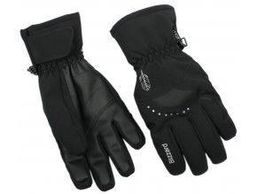 lyžařské rukavice BLIZZARD Viva Davos, black (Veľkosť 8)