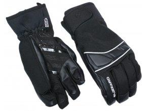lyžařské rukavice BLIZZARD Profi ski gloves, black/silver (Veľkosť 9)