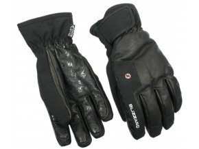 lyžařské rukavice BLIZZARD Schnalstal ski gloves, black (Veľkosť 9)