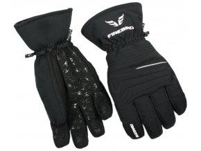 lyžařské rukavice BLIZZARD Firebird ski gloves, black (Veľkosť 9)