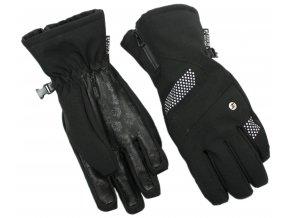 lyžařské rukavice BLIZZARD Viva Alight, black (Veľkosť 8)