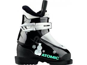 Lyžiarske topánky Atomic Hawx Jr 1 Black/White vel. 24 EU/150 mm