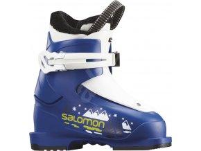 Lyžiarske topánky Salomon  T1 Race Blue F04/White vel. 25 EU/ 150 mm