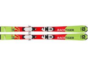 VÖLKL Racetiger JR + Marker VMotion 7.0 (Veľkosť 130)
