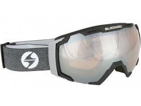 9843 lyziarske okuliare blizzard basic black