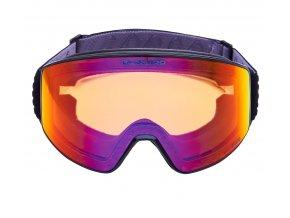 9846 lyzarske bryle blizzard bliz ski gog 931 mdazwo black matt orange1 infrared revo sonar