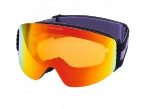 9873 lyzarske bryle blizzard bliz ski gog 932 mdazwo black orange2 red revo sonar
