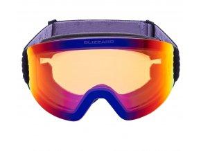 9891 lyzarske bryle blizzard bliz ski gog 932 mdazwo black orange1 infrared revo sonar