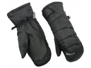 lyžařské rukavice BLIZZARD Viva Mitten, black (Veľkosť 8)