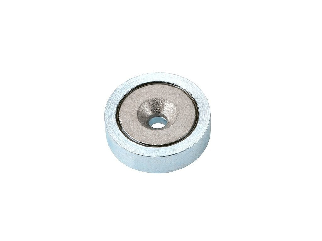 SmCo magnetická čočka se středovou dírou a sražením
