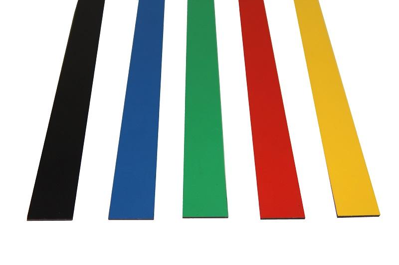 Barevné magnetické pásky