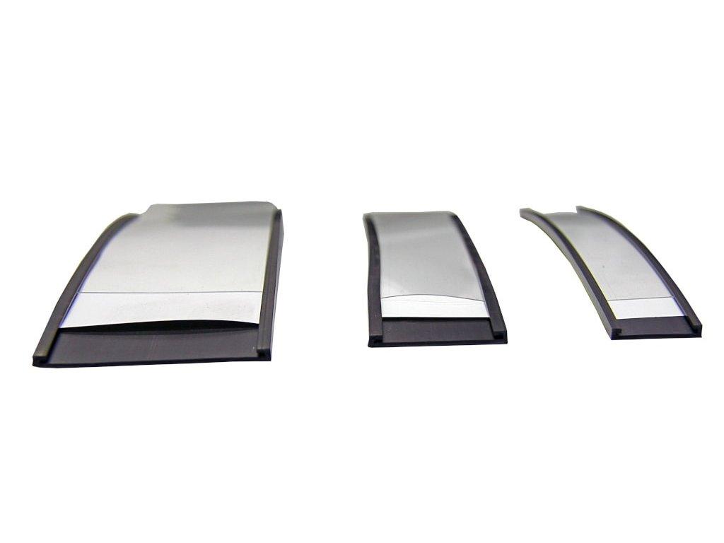 Magnetický pásek C-profil s papírem a fólií