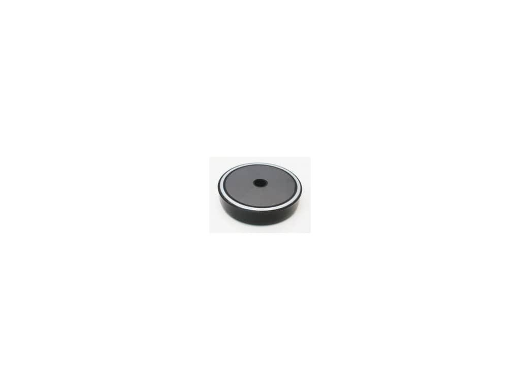 Feritová magnetická čočka poplastovaná se středovou dírou