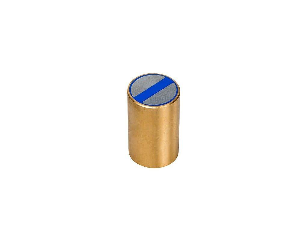 Neodymová magnetická čočka mosazná s tolerancí h6