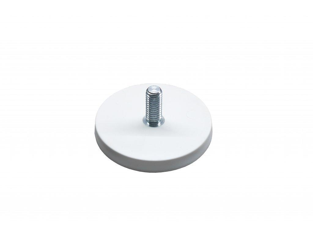 Neodymový pogumovaný magnet s vnějším závitem 88x23,5x8,5 mm