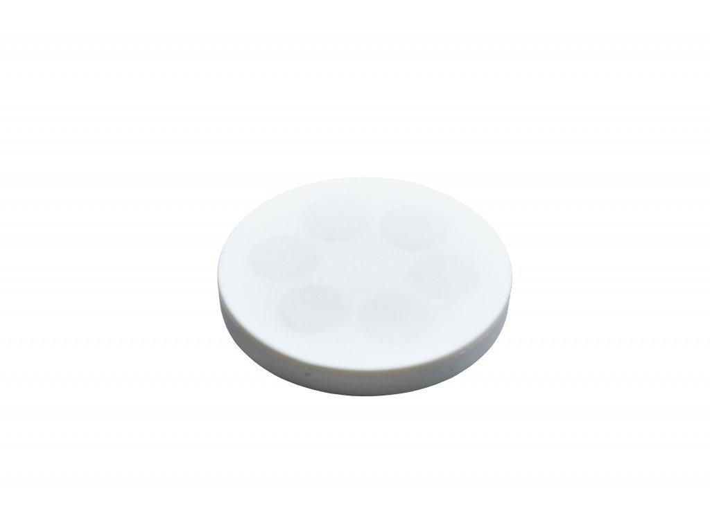 Neodymový pogumovaný magnet s vnitřním závitem 31x6 mm
