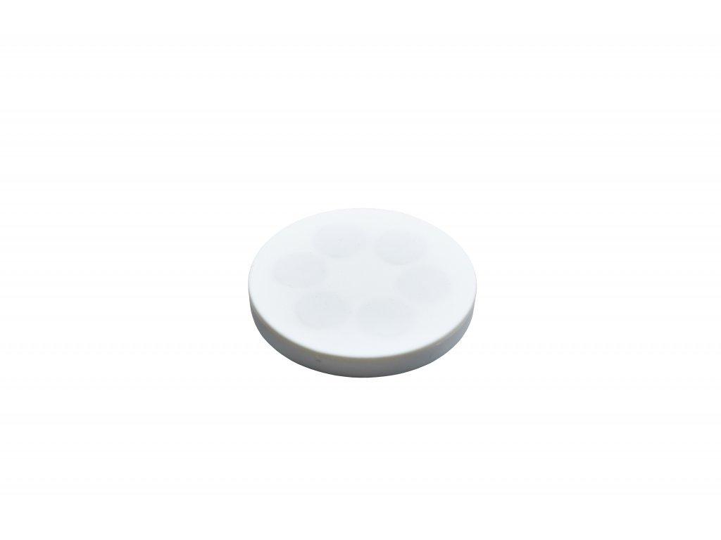 Neodymový pogumovaný magnet s vnitřním závitem 43x6 mm