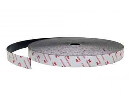 Magnetické pásky samolepící 3M s opačným pólováním