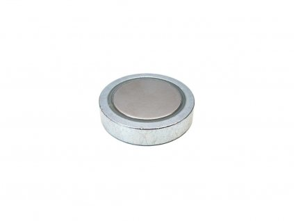 NdFeB magnetická čočka plochá bez závitu