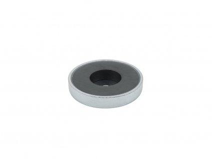 Feritová magnetická čočka se středovou dírou 57x6.5x11 mm