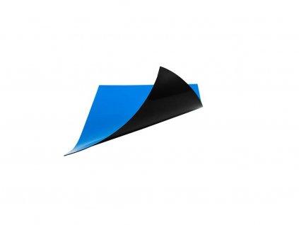 Magnetická fólie – modrá – řezaná