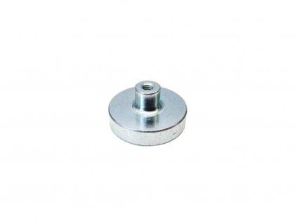 NdFeB magnetická čočka se závitovým pouzdrem