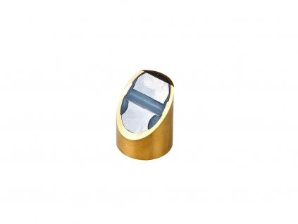 Neodymová magnetická čočka mosazná s tolerancí h6 a opracovanou dotykovou plochou