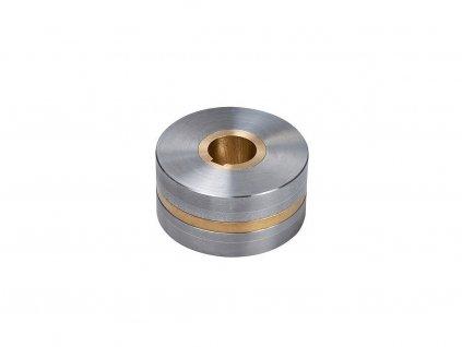 Neodymové magnetické kolo dipólové se středovou dírou a drážkou