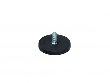 Neodymový pogumovaný magnet s vnějším závitem
