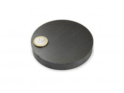 Feritový magnet válec D100x15mm, Ferit, Y35, bez povrchové úpravy