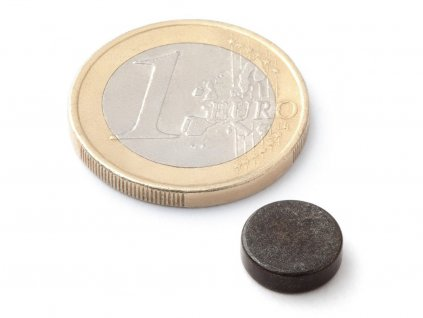 Neodymový magnet válec D10x3 mm, Neodym, N38, pozinkovaný