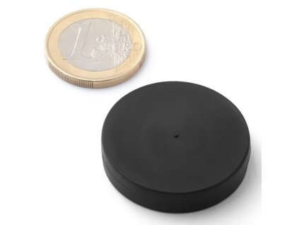 Neodymový magnet válec D30x5 mm, Neodym, N45, pogumovaný
