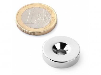 Neodymový magnet mezikruží
