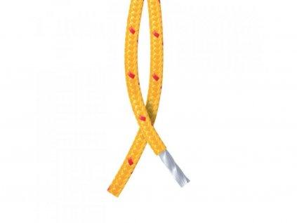 Polyesterové oranžové lano na fishing magnet 15 m