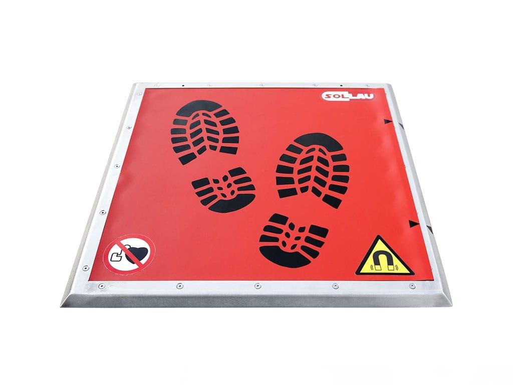 Magnetische Türmatte ohne Schuhabstreifer