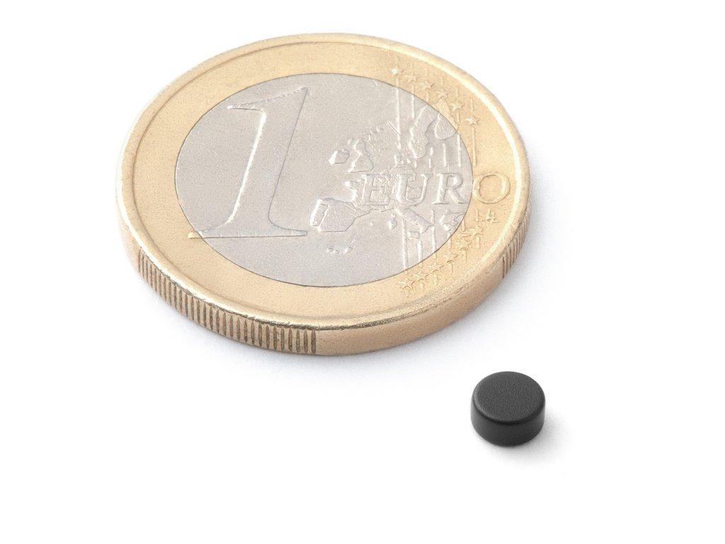 8441 neodymovy magnet valec d 4x2 mm neodym n42 epoxidovany